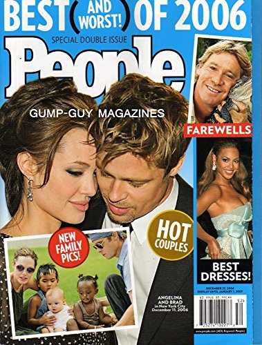 People December 25, 2006 - Brad Married Pitt