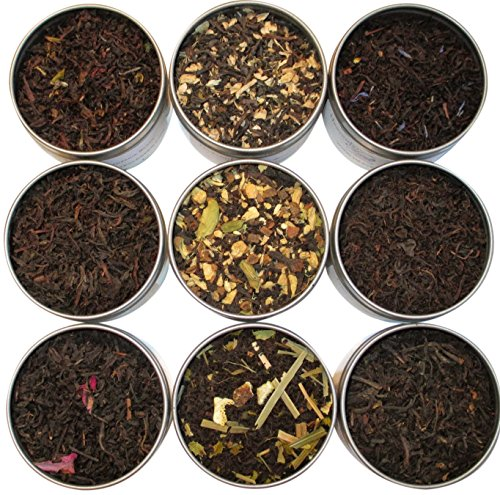 Heavenly Tea Leaves Tea Sampler, 9 Count (Black)