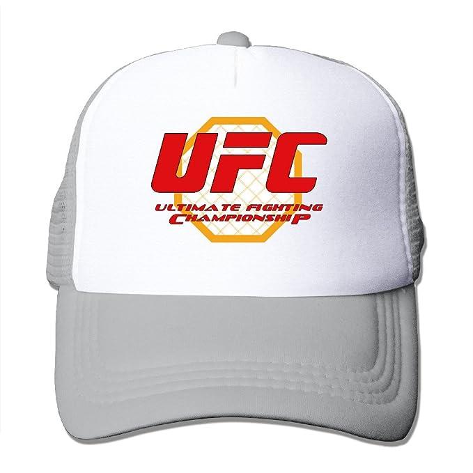 long5zg Unisex ajustable UFC 200 gorra Trucker gorro/gorro de invierno Unisex gris gris Talla única: Amazon.es: Ropa y accesorios