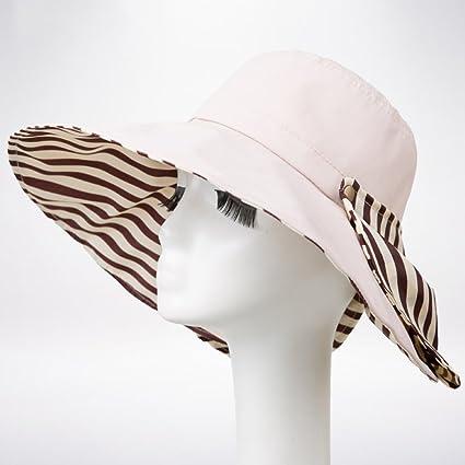 WENZHE Verano Gorros para el sol Pamelas Sombrero De Playa Mujer Sweatband Protector  Solar Transpirabilidad Todo fa9e448fd7e