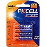 B A S U NeverEnding AAA Green Energy Batteries (4-Pack) Powered by PKCell, Mercury & Cadium FREE