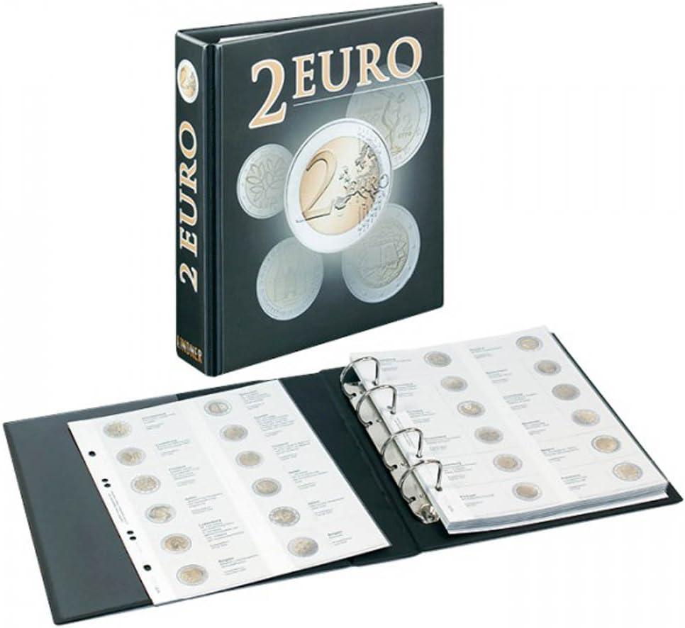 Álbum pre-impreso para monedas 2 Euro commemorativas [Lindner ...