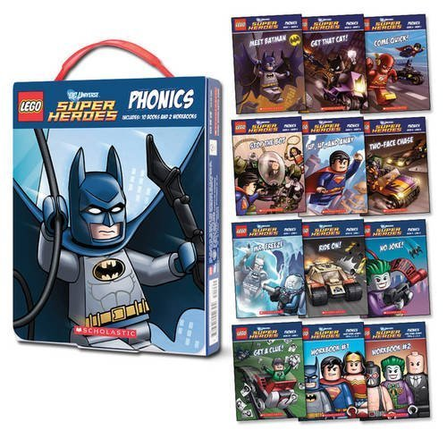 LEGO DC Super Heroes: Phonics by Quinlan B. Lee (2015-09-03)