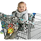 Kiddlets Grocery Shopping Cart Baby Seat Cover - Restaurant...