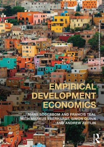 Empirical Development Economics (Routledge Advanced Texts in Economics and Finance)