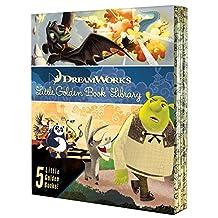 DreamWorks Little Golden Book Library 5 copy boxed set