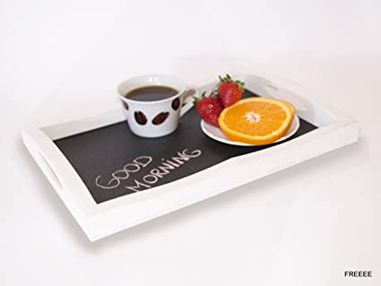 Bandeja de madera para servir. Plato de desayuno, plato de madera, plato de