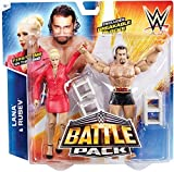 WWE Battle Pack Series #34: Lana vs. Rusev Action Figure (2-Pack)