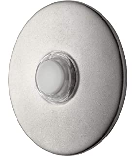NuTone PB41LBR Wired Oil Rubbed Bronze Pushbutton