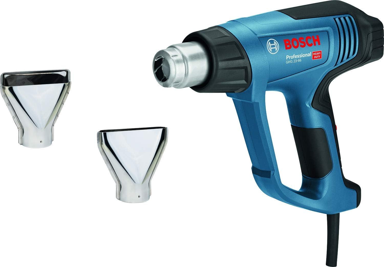 Bosch Professional GHG 23-66 - Decapador (2300 W, temperatura regulable 50hasta 650°, pantalla digital, 10 flujos, en maletín)