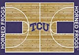 NCAA Home Court Rug - Texas Christian Horned Frogs, 7'8'' x 10'9''