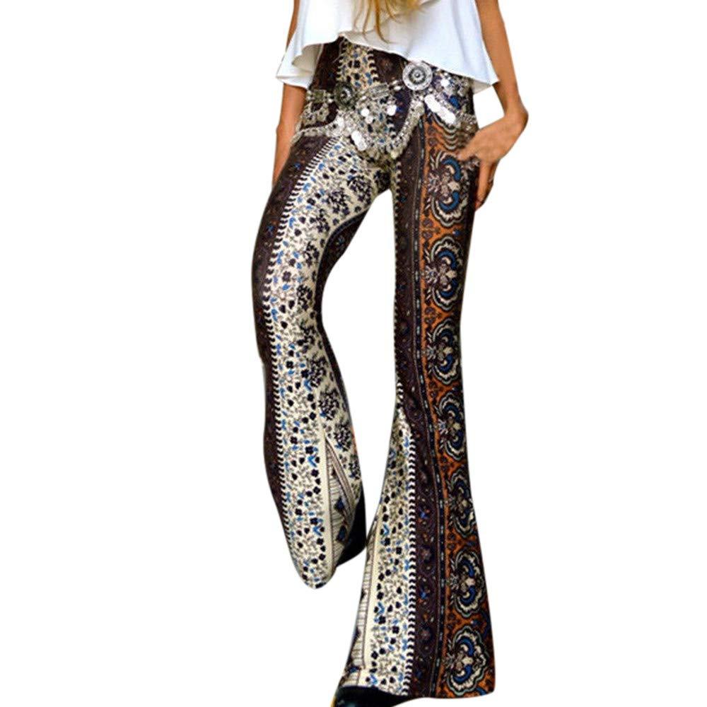 Womens Casual Pants for Summer Women Animal Print Look Lady Long Leopard Snaks Pants High Waist Pants by F_topbu Women Casual Pants