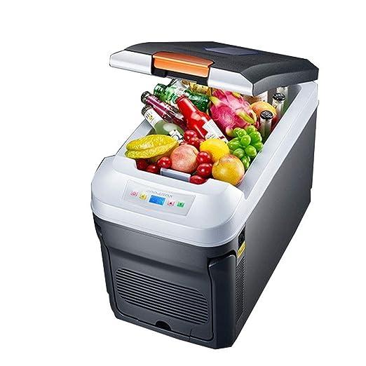 ZZXXRR Coolbox eléctrico Refrigerador del Coche 35L Termostato ...