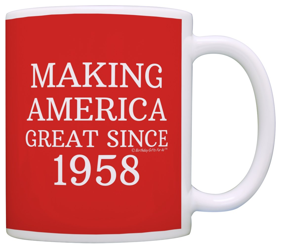 Amazon.com: 60th Birthday Gifts For All Making America Great Since ...