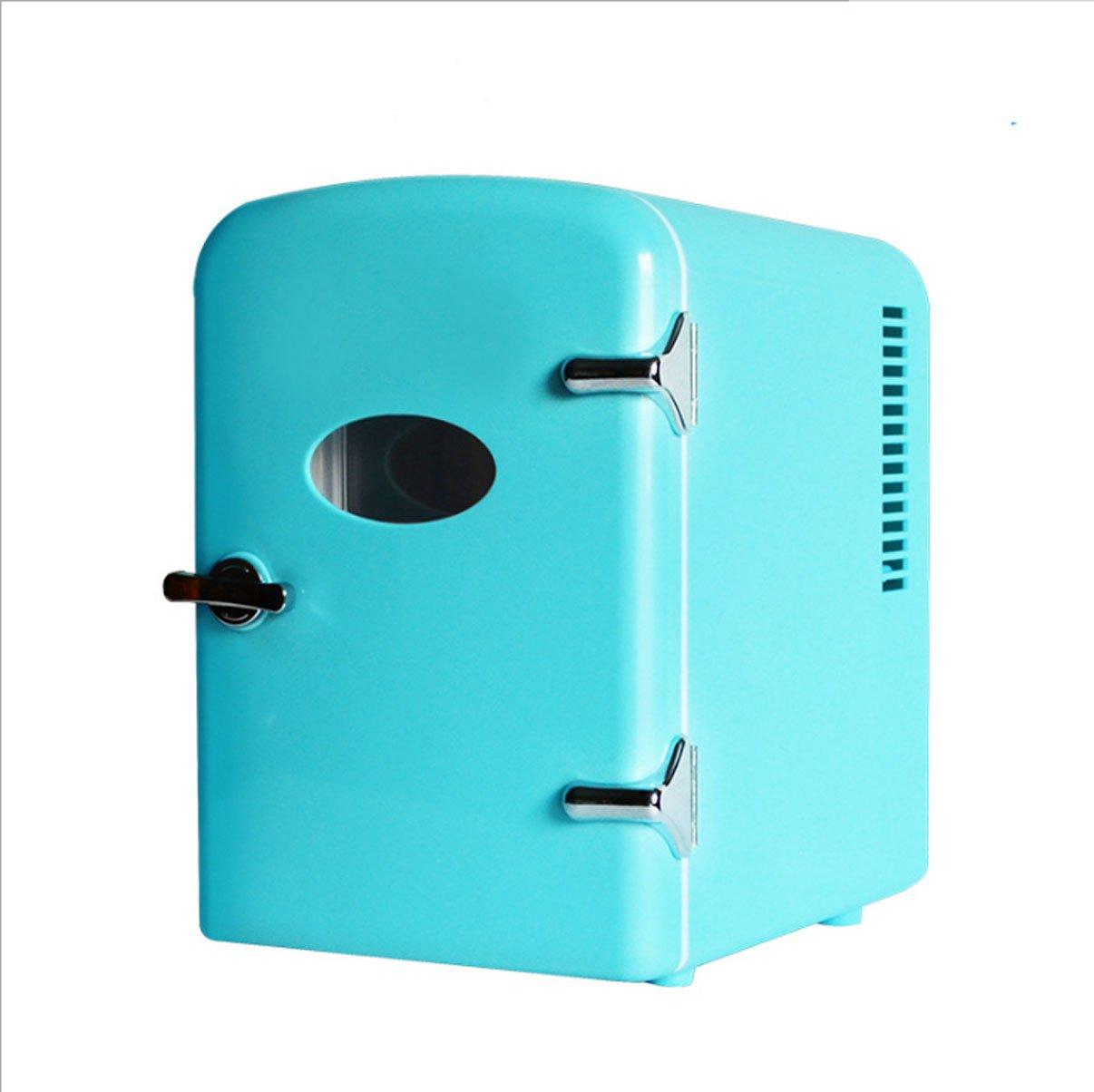 Color : Black tragbare Mini-K/ühlschrank Medikamentenlager Kosmetik-K/ühlschrank Thermostat T-Day Car K/ühlschr/änke 5L Auto K/ühlschrank AC und DC Hotspot-System