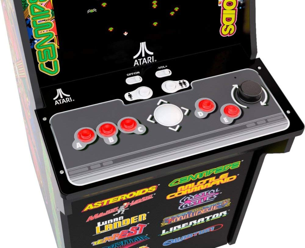 Arcade1Up Deluxe Edition 12-in-1 Arcade Cabinet with Riser, 5 feet by Arcade1Up (Image #2)