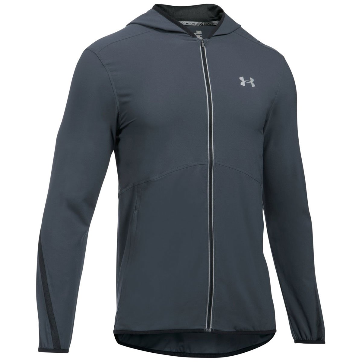 Under Armour Men's Run True Jacket,Stealth Gray (008)/Reflective, XXX-Large