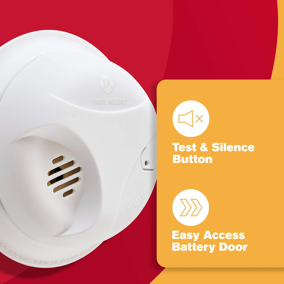 First Alert Sa303cn3 Battery Powered Smoke Alarm With Silence Button Related Links More Circuit About Detectors