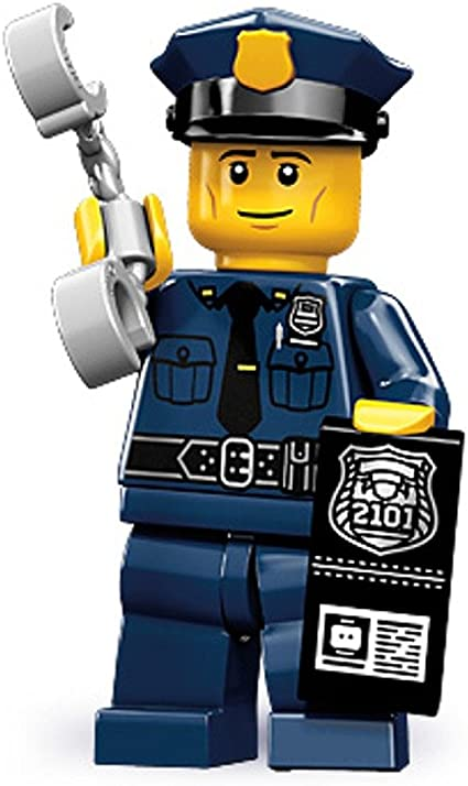 genuine lego minifigures the policeman from series 9