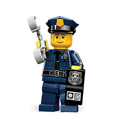 Amazoncom Lego 71000 Minifigure Series 9 Police Man Toys Games
