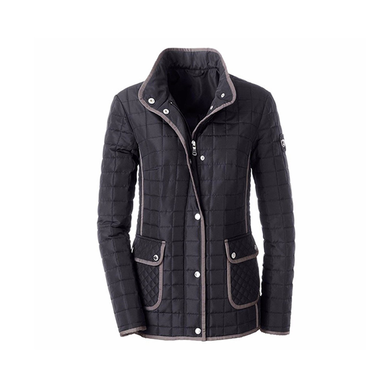 YouzhiWan007 Women Jacket New Casual Jacket Autumn Spring Ladies Coat Rips Tape Around Hem and Placket Plus Size 5XL 6XL 7XL Black XXL