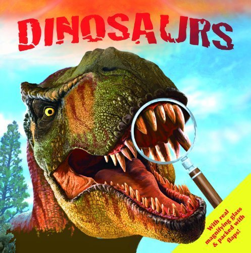 DINOSAURS, discover top facts through the magnifying glass. Kids Gift (Igloo Books Ltd) (Look Closely 2) by Igloo Books Ltd (2014) Hardcover