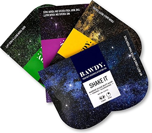 (BAWDY Galaxy Kit - Butt Mask Collection, pack of 4 masks - Shake It, Slap It, Squeeze It, Bite It)