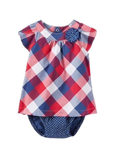 bc276af4965 Baby Girls Child of Mine By Carters Buffalo Checked Dress (18 Months)