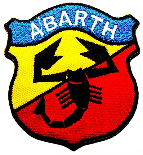 abarth-fiat-lancia-tuning-racing-logo-patch-sew-iron-on-embroidered