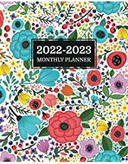 2022-2023 Monthly Planner: 2 Year Monthly Organizer and Planner - January 2022 to December 2023 (Floral Design Cover)