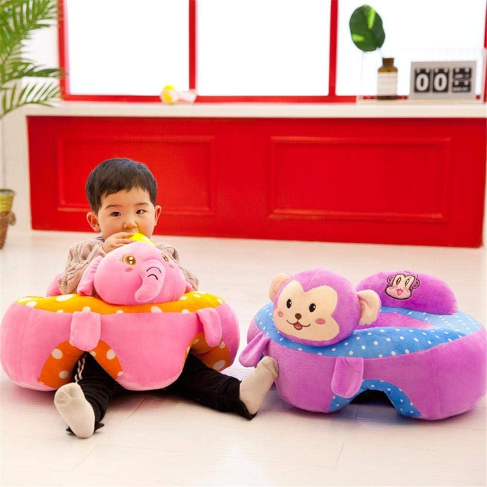 Juguetes para Ni/ños Asiento De Aprendizaje Bebe Sofa Bebe De 0 A 2 A/ños Morningtime Asiento De Apoyo para Bebe Cojin De Asiento De Suave Peluche