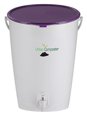 Urban Tacho Kit - compostaje y acelerador del aerosol, Morado, Original 15l: Amazon.es: Hogar