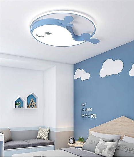 CUICUIMM Luz de Techo LED para niños, Pantalla de Metal ...