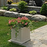 Fairfield Patio Planter, 20 by 20-Inch, Clay