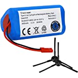Electropan Robot Vacuum Cleaner Battery 11.1V 2600mAH Replacement for ILIFE V3 V3s V5 V5s