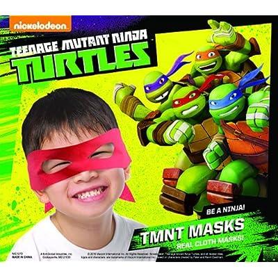 AAG Teenage Mutant Ninja Turtles Masks ~Set of 10 Party Favors: Toys & Games