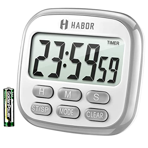 Habor Large Digital Kitchen Timer