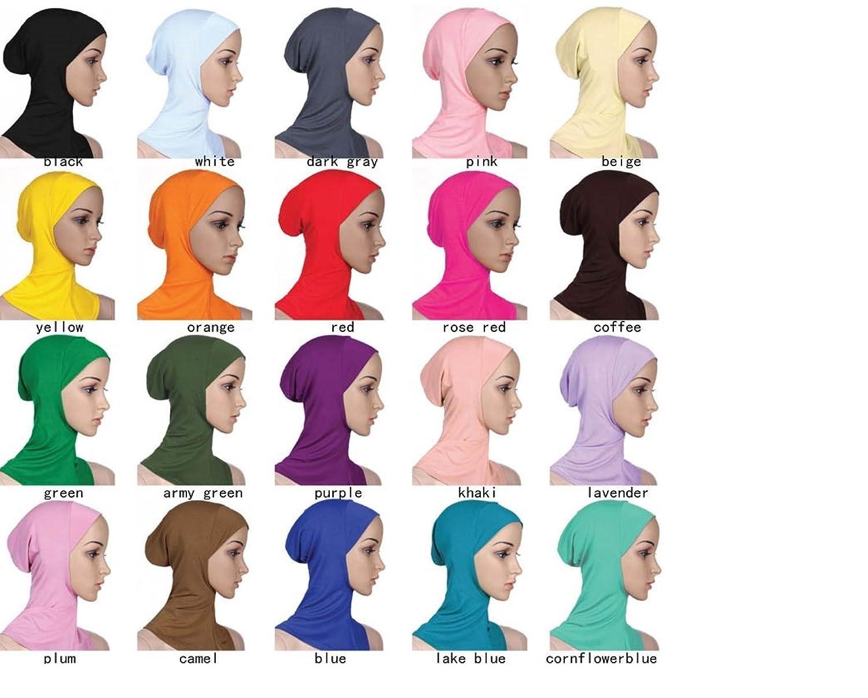 Kopftuch Hijab Maxi Schal Groß Übergröße Einfarbig Baumwolle Schlauch islam schal