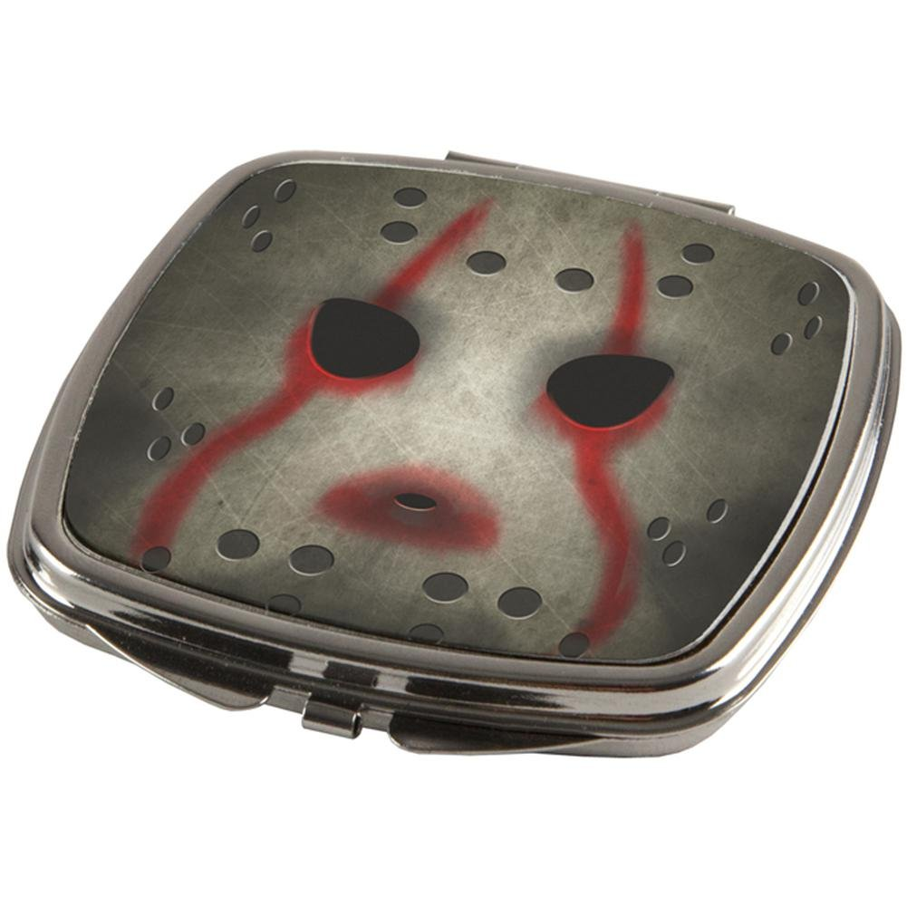 Old Glory Halloween Horror Movie Hockey Mask Compact Multi Standard One Size