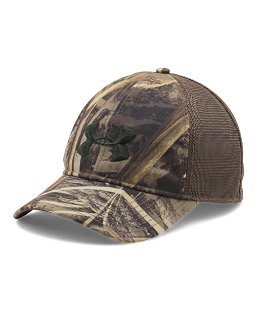 93dee02d798b6 coupon amazon under armour mens ua camo mesh back cap one size fits all  realtree max