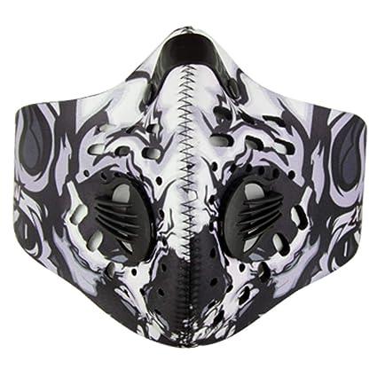 LEACK Máscara Antipolvo a carbón Activo máscara de carbón Activo para filtración de carbón máscara Anti