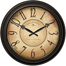 18 in. Round Taylor Road Wall Clock