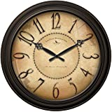 Cheap 18 in. Round Taylor Road Wall Clock
