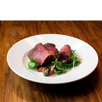 Dauerhaft Dinnerware 10 oz Porcelain Pasta Plate/Pasta Bowl/ Wide Rim Salad Bowl Rolled  sc 1 st  Amazon.com & Amazon.com | Dauerhaft Dinnerware 10 oz Porcelain Pasta Plate/Pasta ...