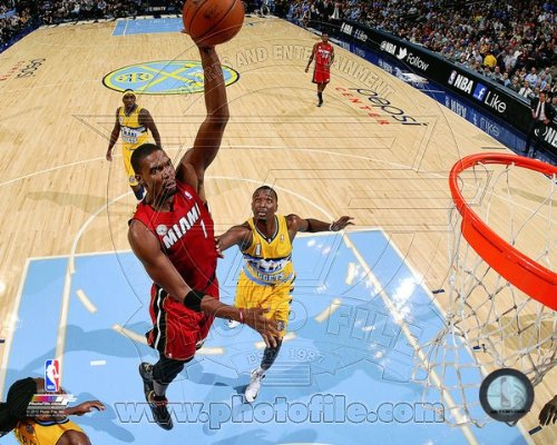 Chris Bosh Miami Heat 2012-2013 NBA Action Photo #1 8x10