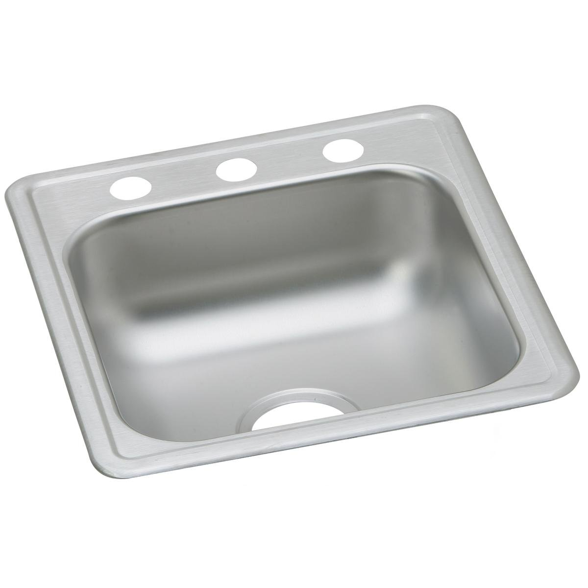 Dayton D117193 Single Bowl Top Mount Stainless Steel Bar Sink by Elkay