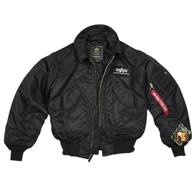5dee62cd2e493 Alpha Abrigo para Hombre  Amazon.es  Ropa y accesorios