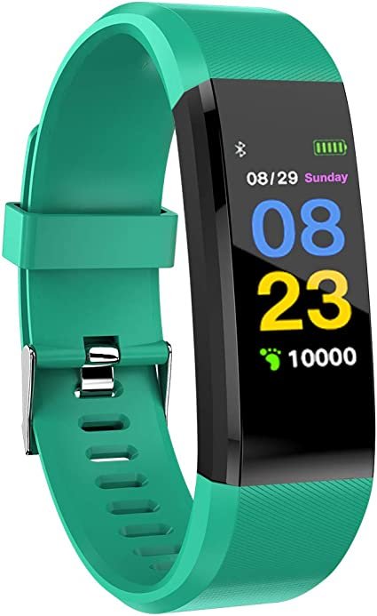 Fitness Tracker HR IP67 Waterproof with Heart Rate Blood Pressure Monito GPS Actiate Sleep Monitor Calorie Pedometer IP67 Waterproof Smart Smart Sport ...