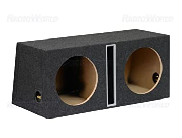 "NEW 12/"" Powered Car Audio Bass Subwoofer Speaker.Ported Enclosure Box.Active."