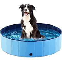 Jasonwell Foldable Dog Pet Bath Pool Collapsible Dog Pet Pool Bathing Tub Kiddie Pool for Dogs Cats and Kids